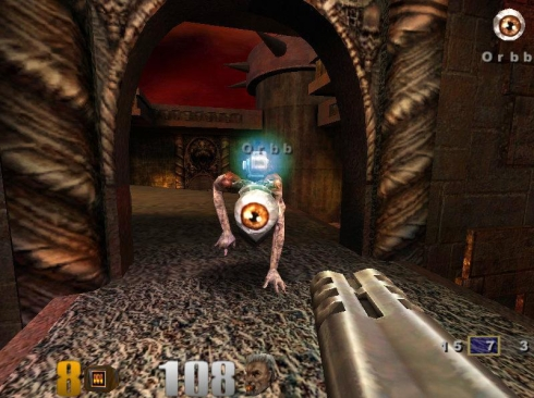 Gameplay screenshot of Quake III: Arena - Photo credit: Old PC Gaming