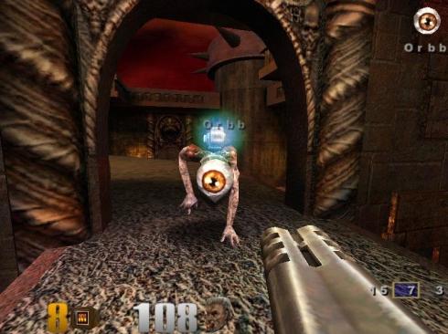 Gameplay screenshot of Quake III: Arena - Photo credit: Old PC Gaming