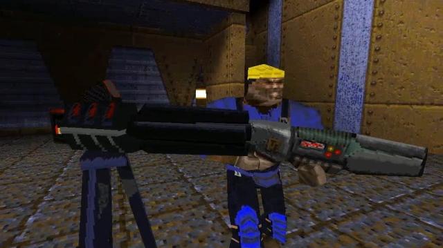 Screenshot of the Quake mod, Team Fortress. Photo Credit - ModDB.com